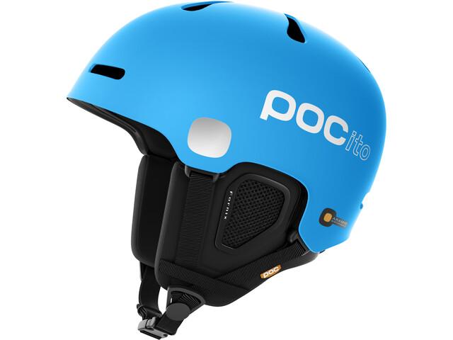 POC POCito Fornix Casco Bambino, flourescent blue
